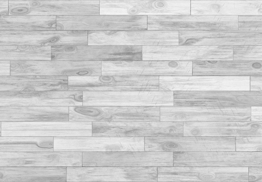 Hardwood look-alike laminate