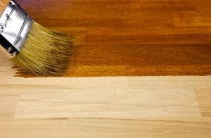 Painting hardwood floors